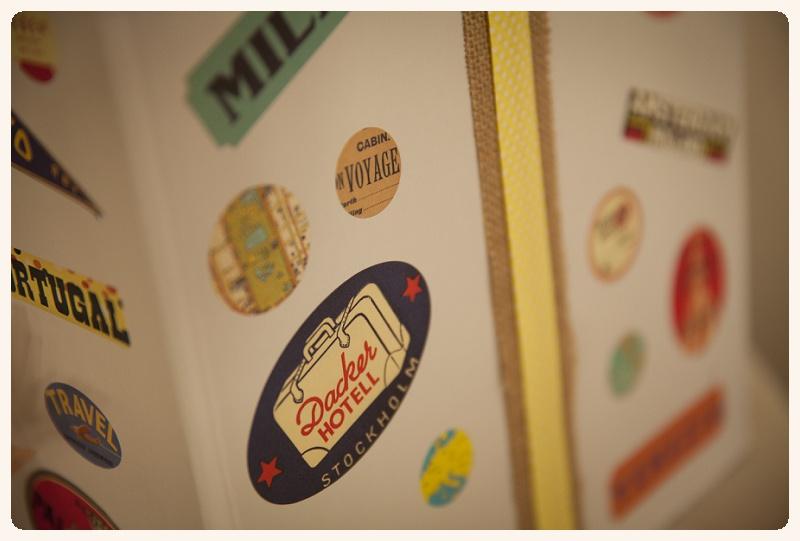 DIY: Hochzeitspostbox im Vintage-Reise Stil