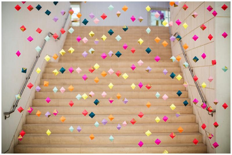 Fundstück der Woche #4: Geometrische Hochzeitsdeko