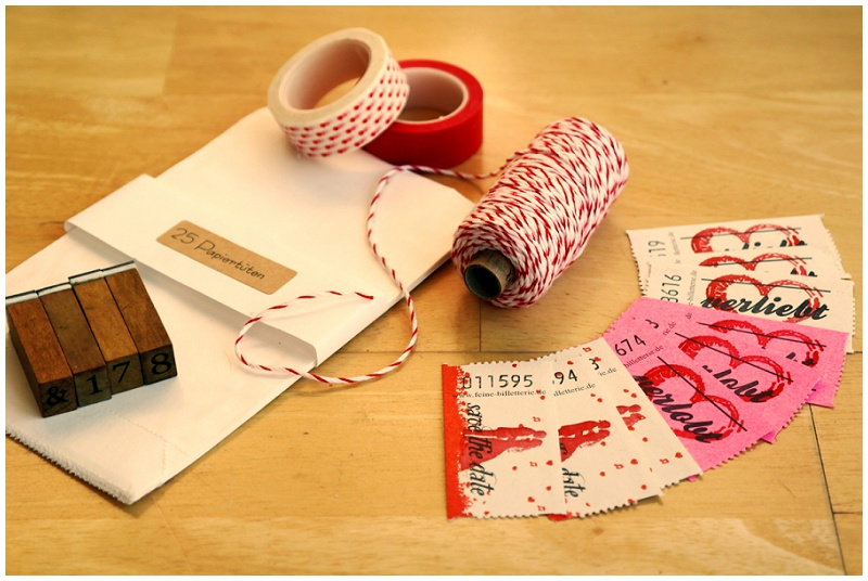 Save the Date Karte Selbermachen mit Feine Billeterie und The Little Wedding Corner