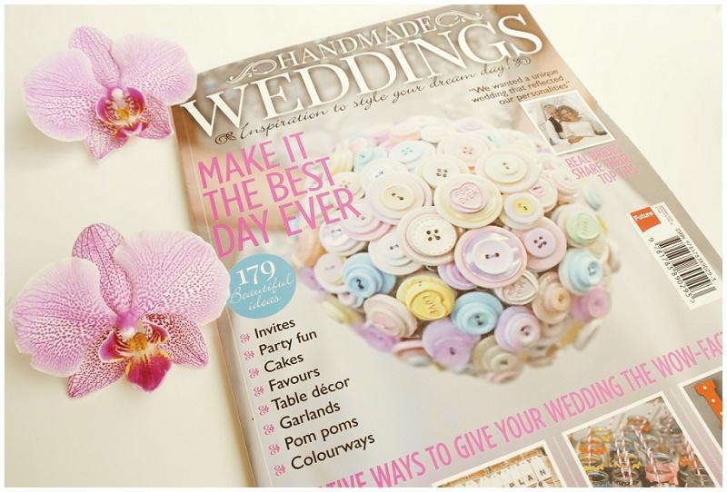Hochzeitsmagazin Handmade Wedding