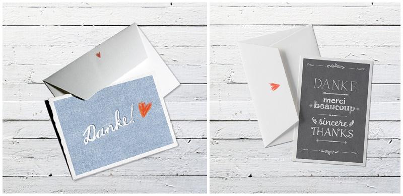 Dankeskarten Selber Basteln : Ideen, wie ihr von Herzen Danke sagen könnt  Hochzeitsblog The