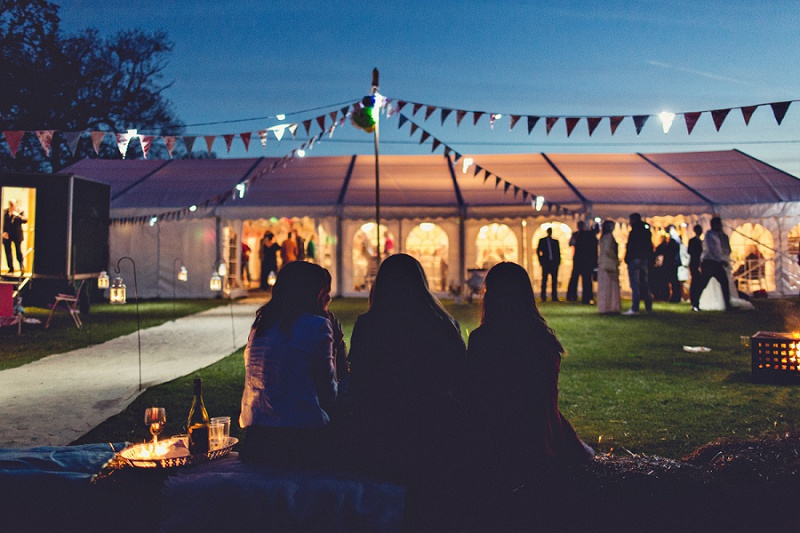 Isobel and Ed Tipi rustic wedding Anna Clarke