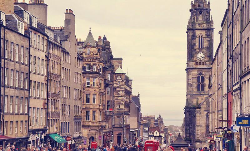 Royal Mile Edinburgh - Schottland
