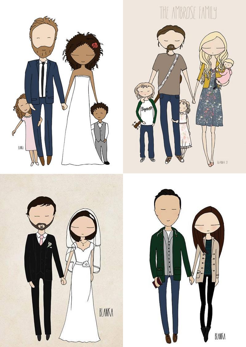 Diese Individuellen U0027Comicu0027 Versionen Sind Doch Eine Wunderschöne  Erinnerung An Den Hochzeitstag, Oder? Könnte Ich Mir Auch Als Wanddeko Zu  Hause Vorstellen ...