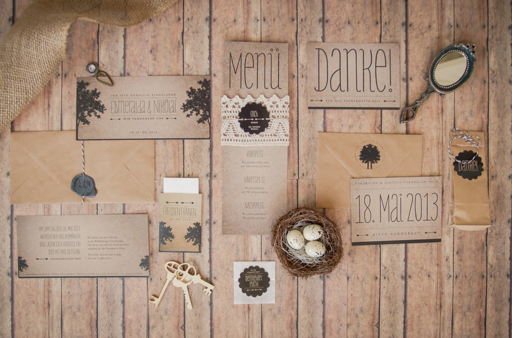 Project Pinpoint  Hochzeitspapeterie