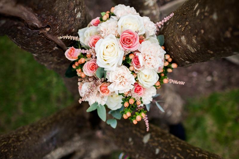 Brautstrauß Hochzeit navyblur