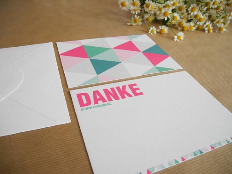 Inspirationen für Last-Minute Dankeskarten