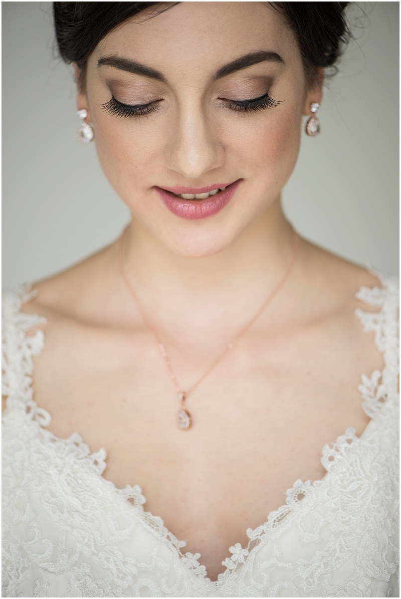 Winter Hochzeit Make Up