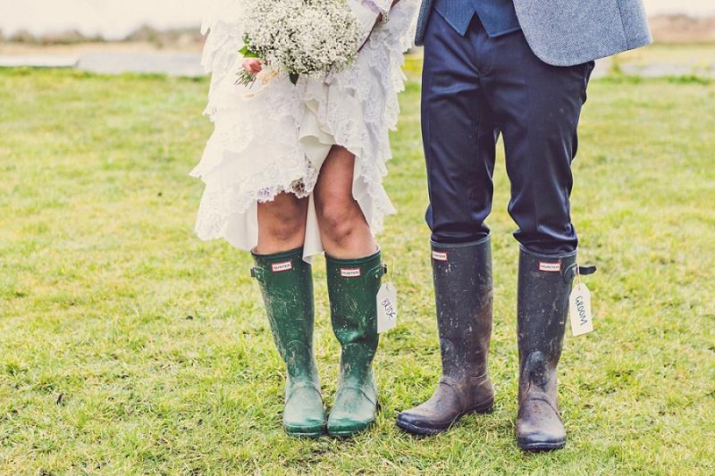 Keine Angst vor schlechtem Wetter! Tipps für eine tolle Hochzeit im Regen