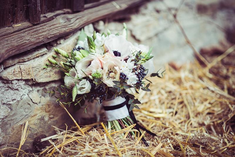 Brautstrauß Anemone