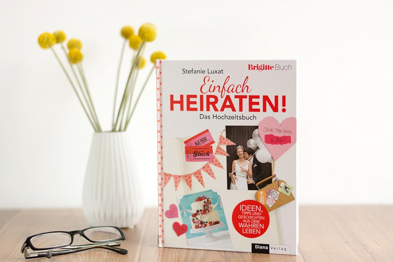 Einfach heiraten Hochzeitsbuch Stefanie Luxat
