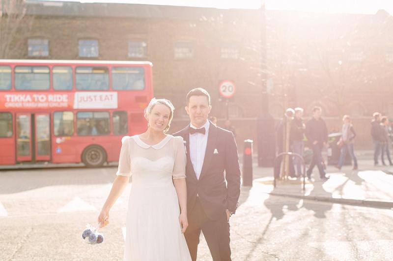 Urban Chic Hochzeit in London von Aline Lange