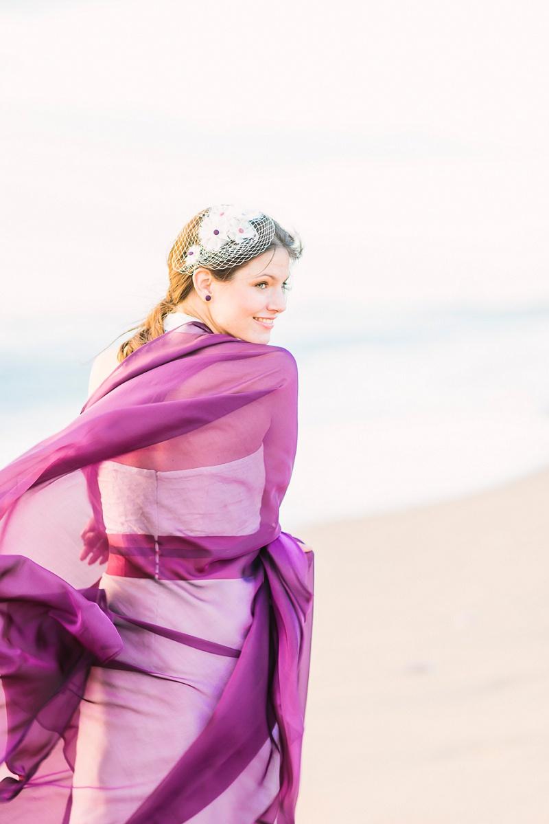 noni Brautkleid Elfie rosa Gürtel