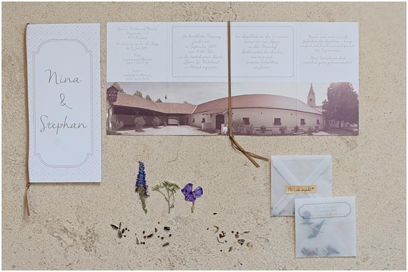 Gastgeschenk Hochzeit Blumensamen