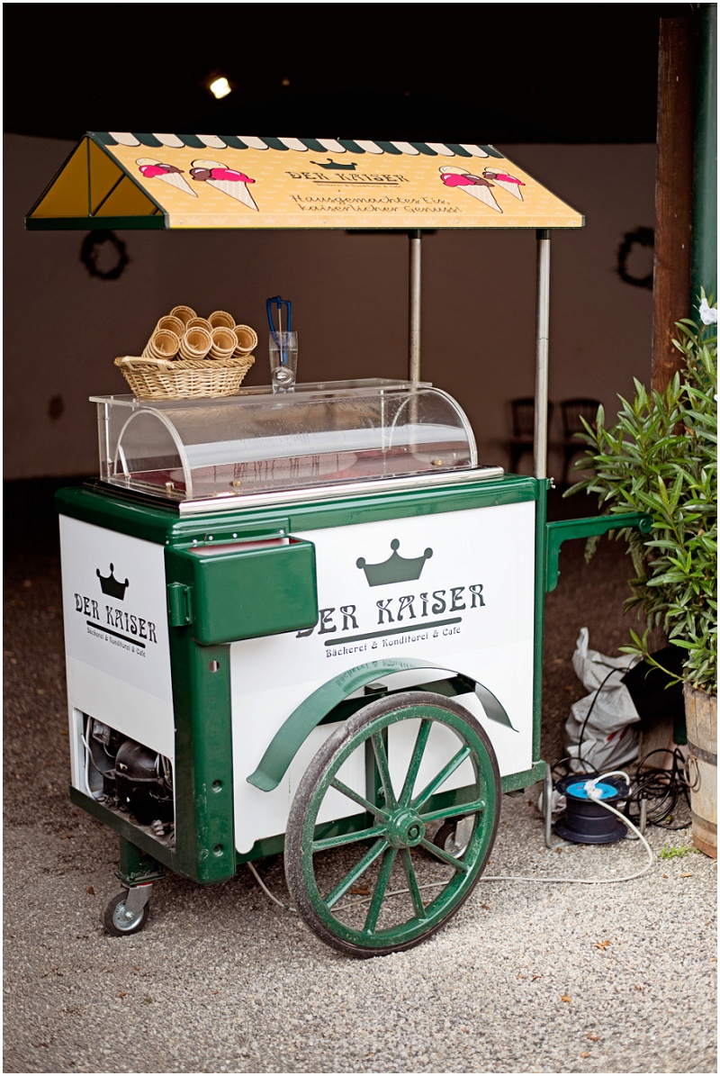 Hochzeit Eiswagen