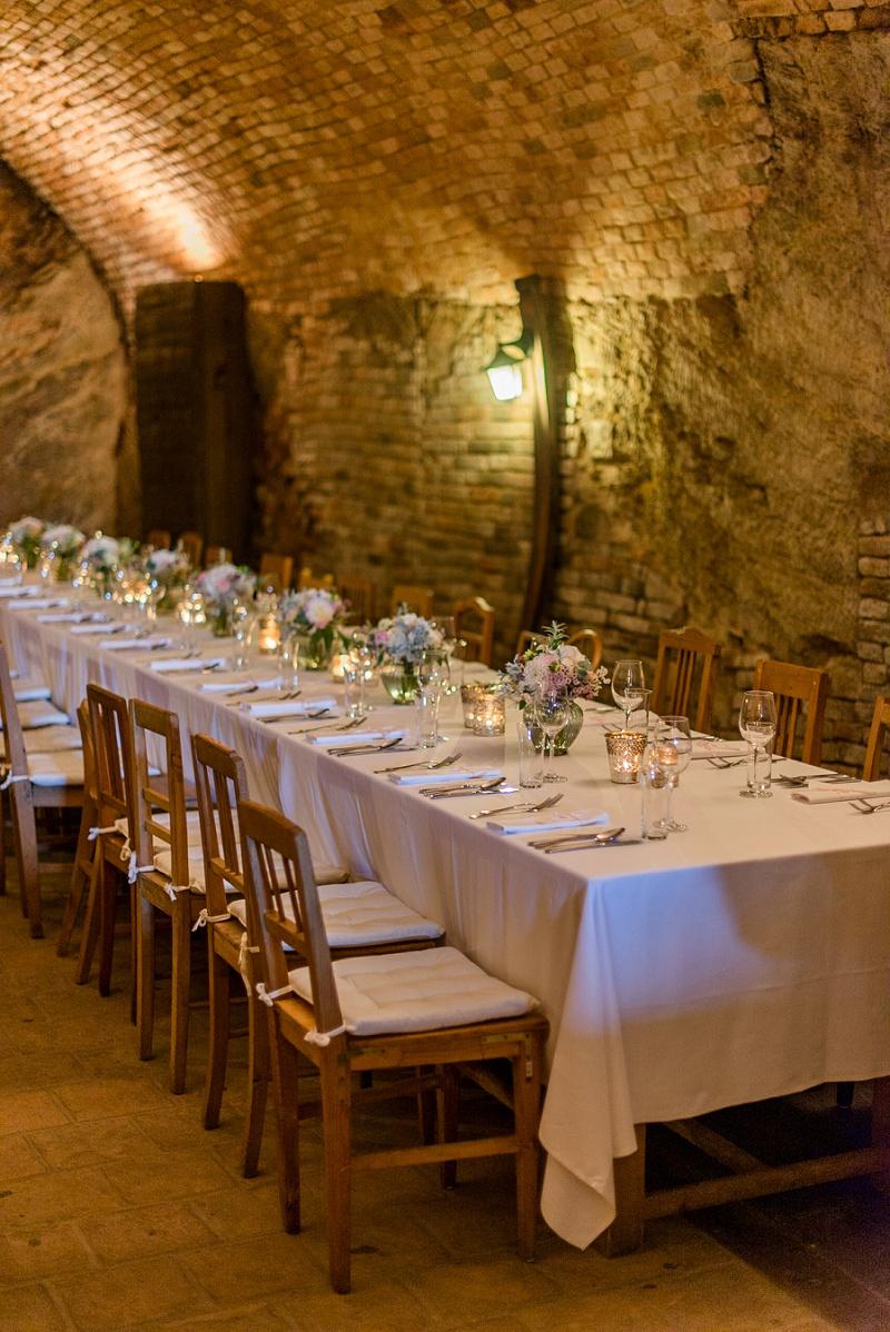 Hochzeit Weinkeller