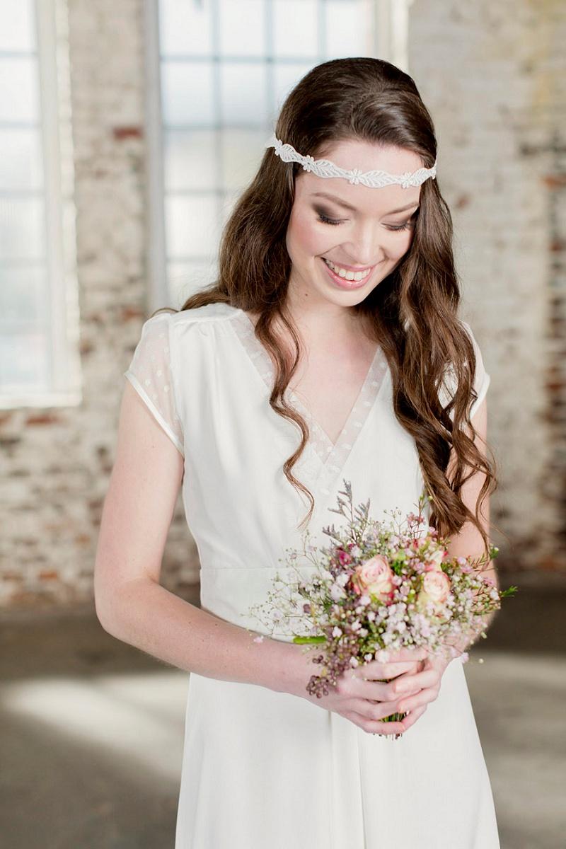 Brautkleid Labude Haarband