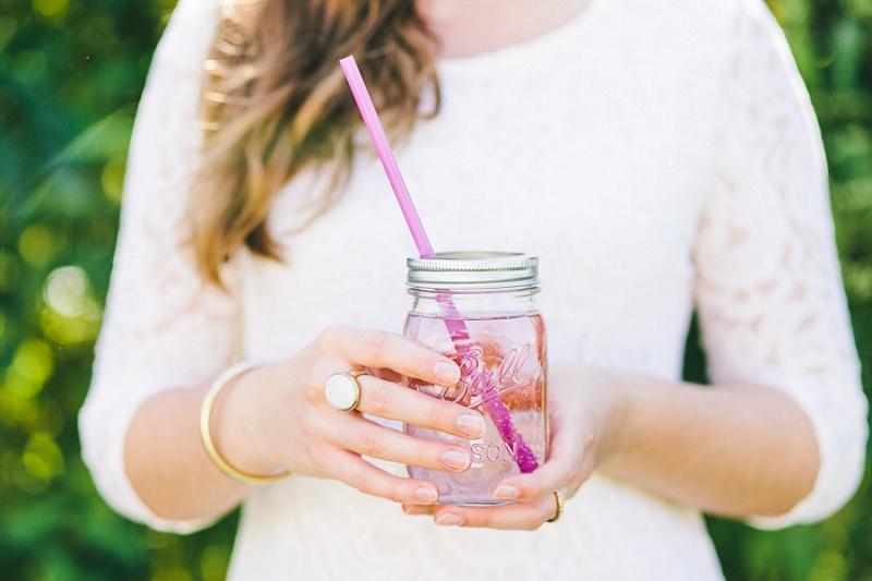 Hochzeit Mason Ball Glas