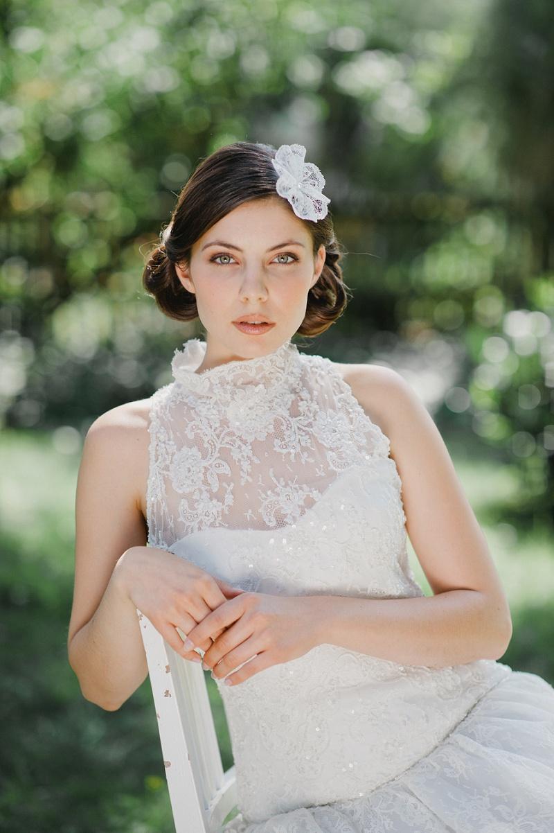 Hochzeit Haarschmuck Blüte