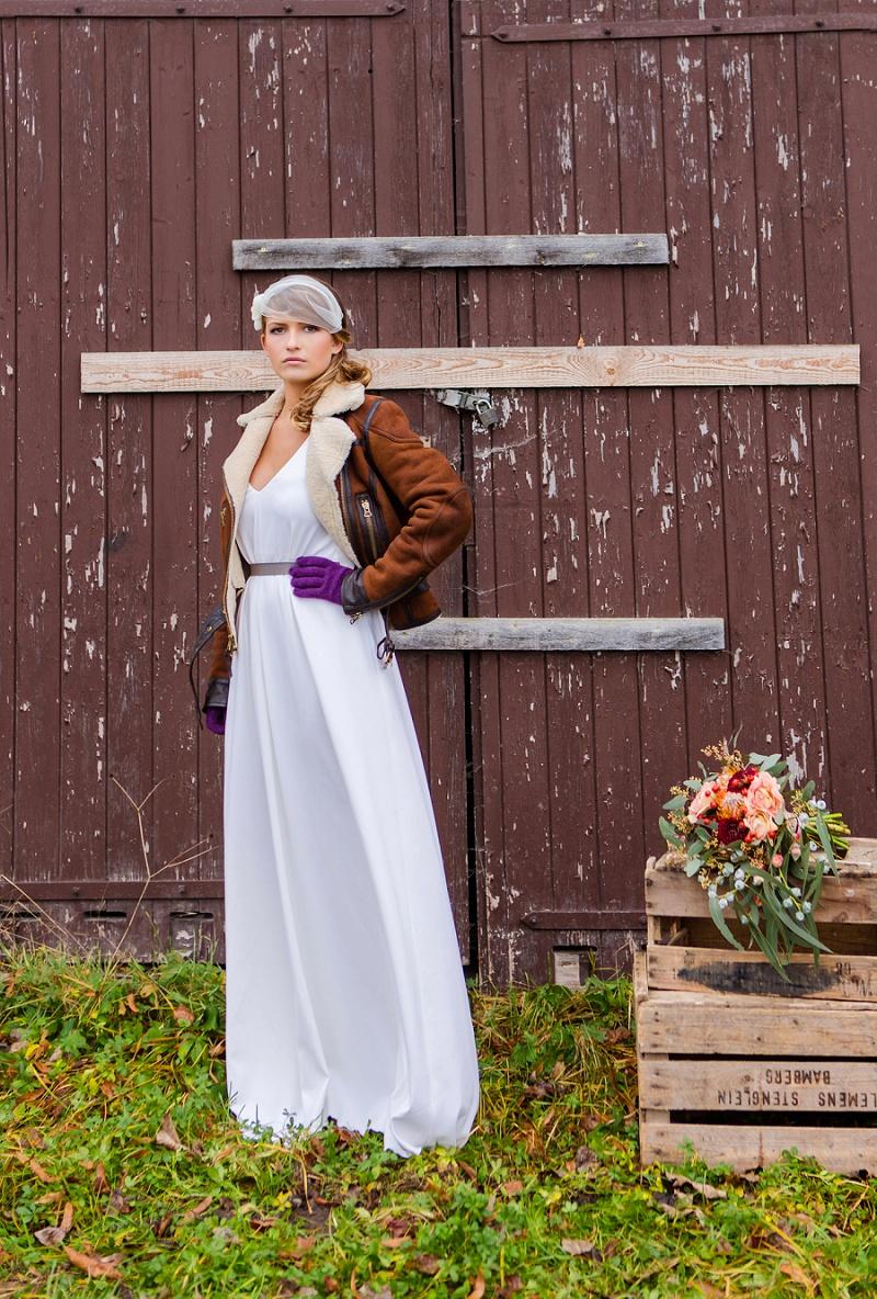 Brautkleid Seide La Robe Marie