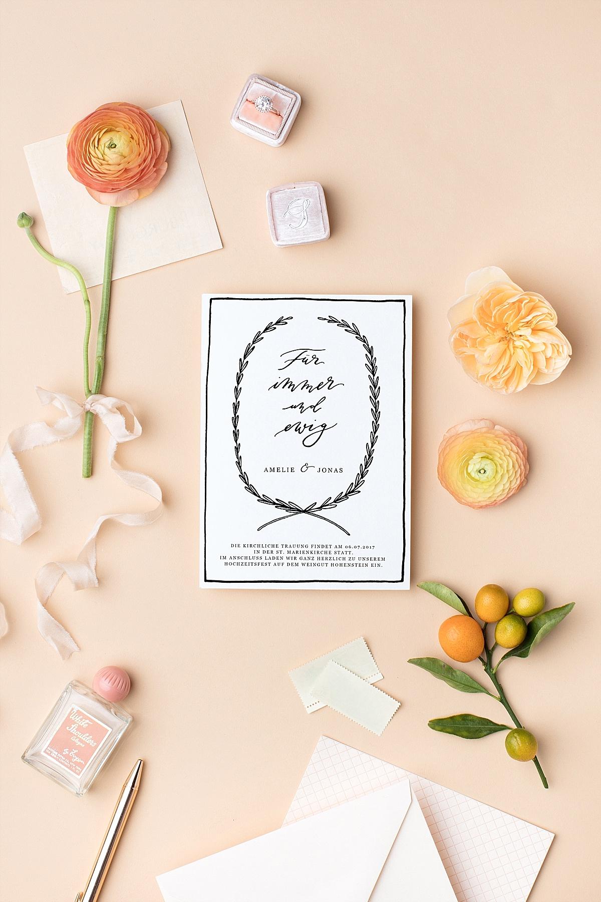 Welcher Text Gehört In Eine Hochzeitseinladung