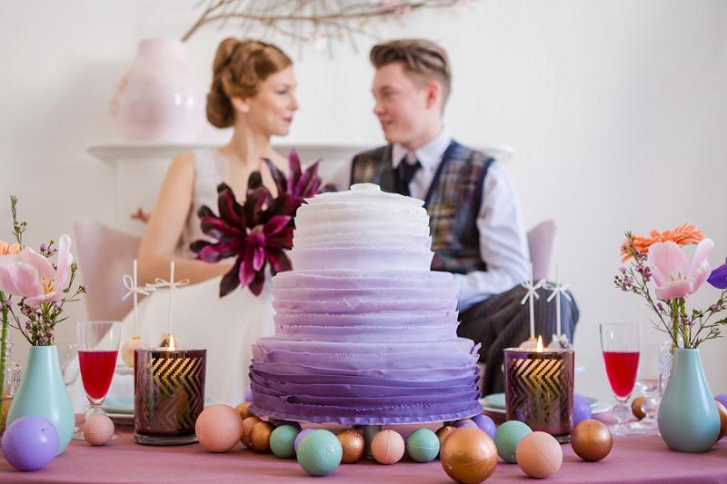 Urban Chic Hochzeit zu Hause in Kupfer und Mint und 1 x DIY Deko zu gewinnen