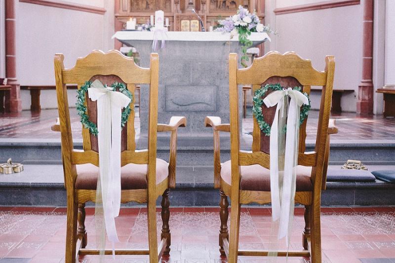 kirchliche Trauung Deko