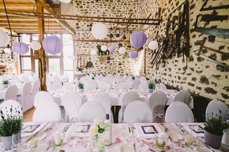 Hochzeit lila Waldorfer Höfe