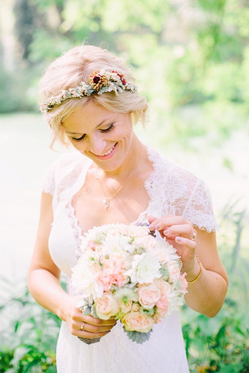 Boho Hochzeit pastell