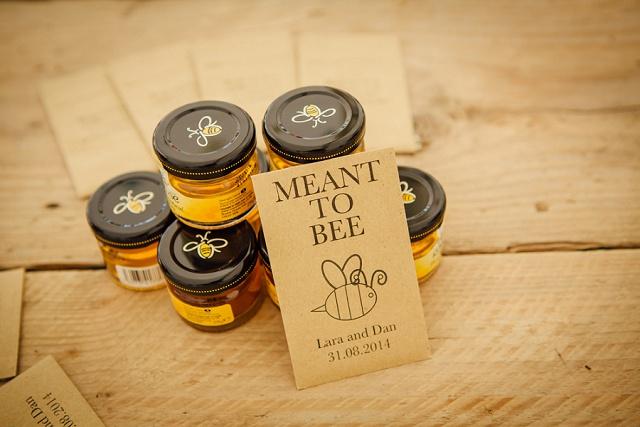 Gastgeschenk Hochzeit Honig