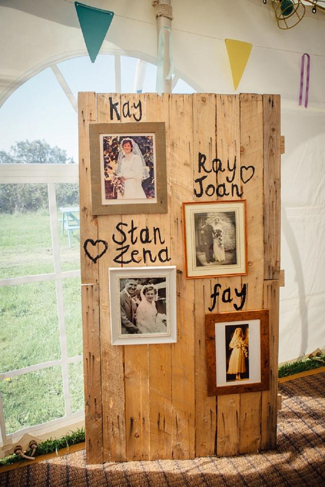 Hochzeitsfotos Verwandte Deko