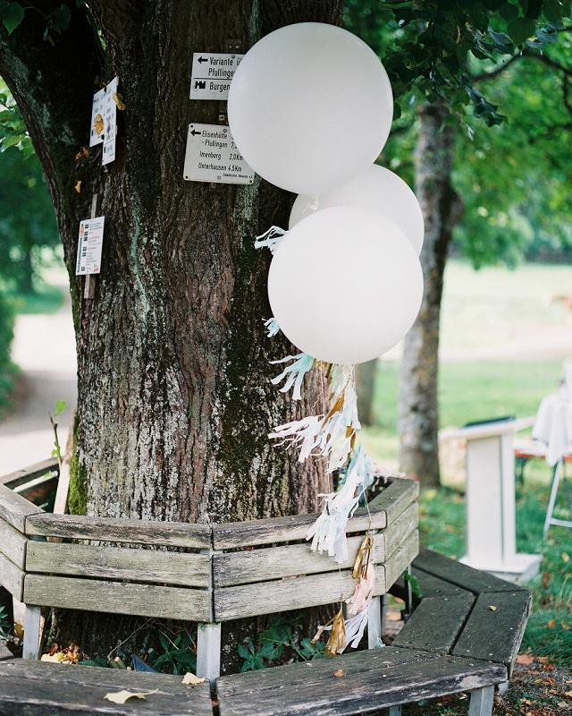 Luftballon Quaste Hochzeit