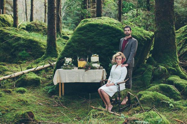 Von Elfen und Waldgeistern – Inspirationen für eine Boho Hochzeit im Wald von White Cat Studio