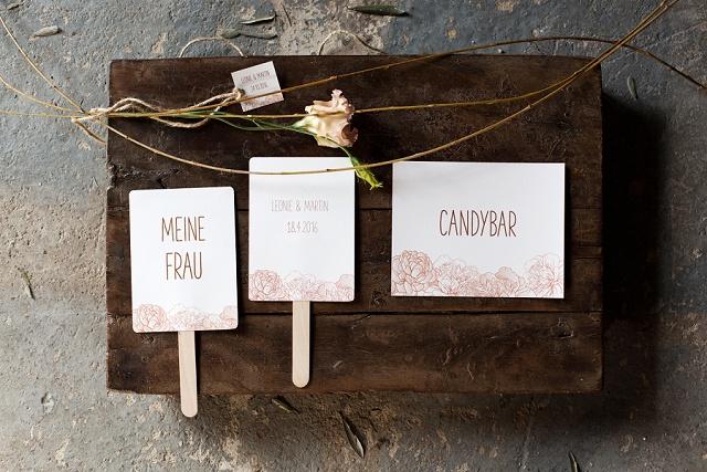 Hochzeitspapeterie Wedding Republic Vintage Roses