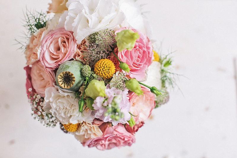 14 Ideen für euren Brautstrauß und welche Blumen wann verfügbar sind?