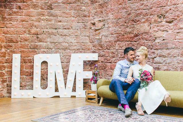 Industrial Chic Heiraten mit Vergiss Mein Nicht Fotografie