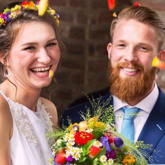 The Bloke: Inspirationen für eine bunte Boho Hochzeit und Mode für den Mann