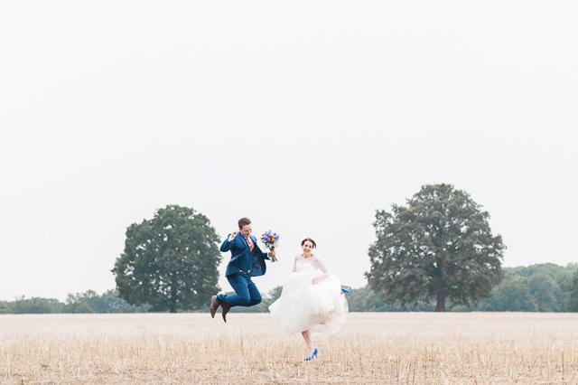 Bunte Vintage Hochzeit von Denise Stock