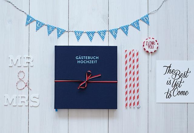 Die schönsten Gästebücher für eure Hochzeit
