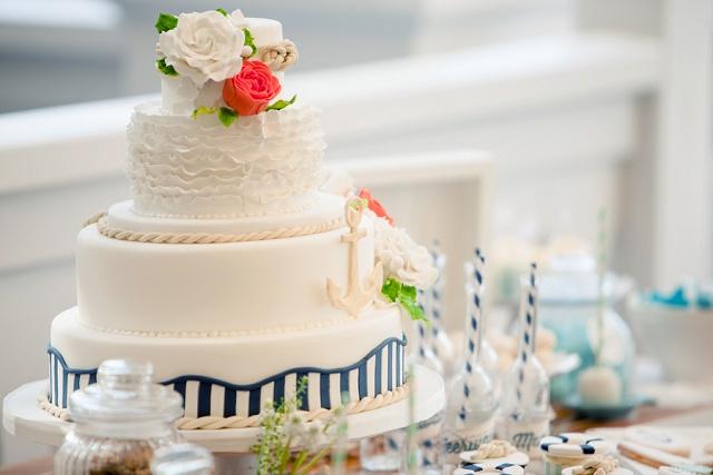 Hochzeitstorte Anker