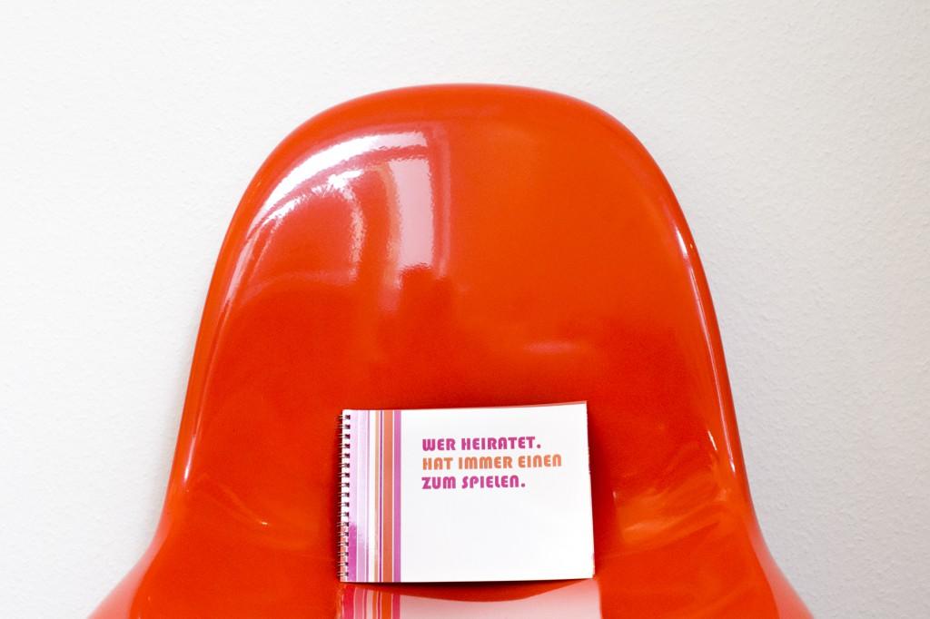 Urban Chic Hochzeit in Pink und Orange von Hanna Witte