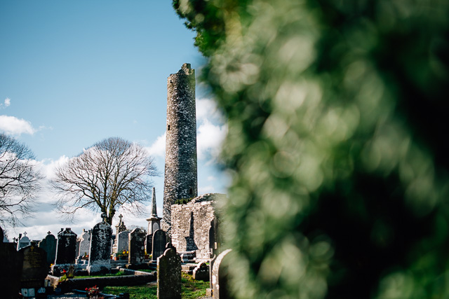 Irland- Monasterboice Sehenswürdigkeit