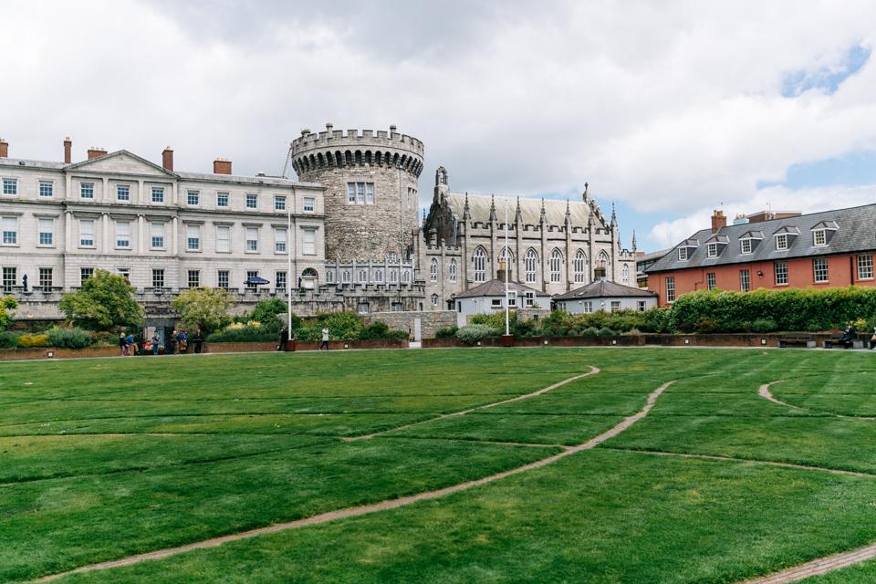 Irland Dublin Castle Sehenswürdigkeiten
