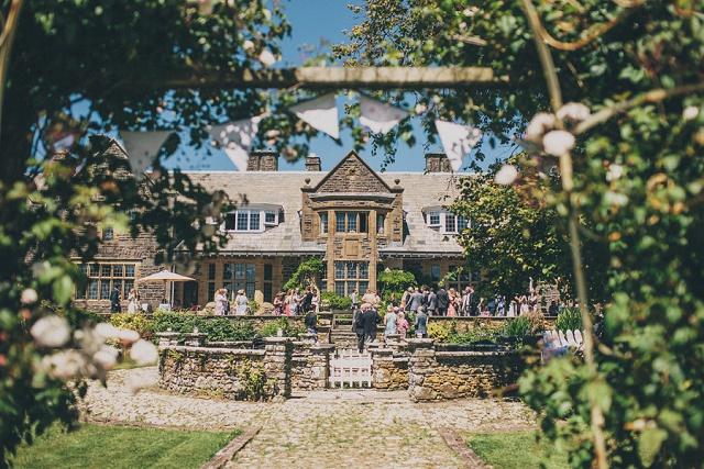 Pickwell Manor Devon wedding