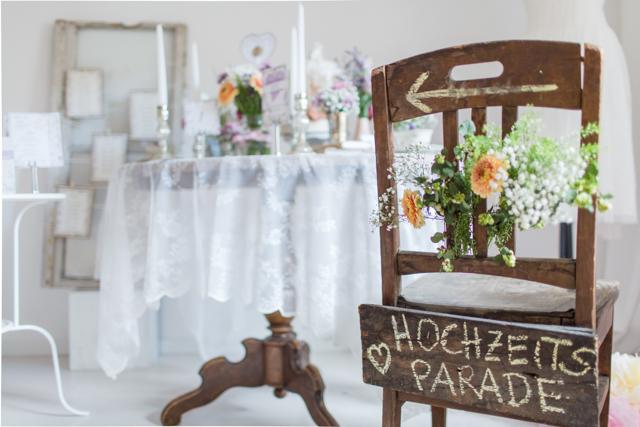 Wunderschöne Hochzeitsinspirationen auf der Hochzeitsparade 2015