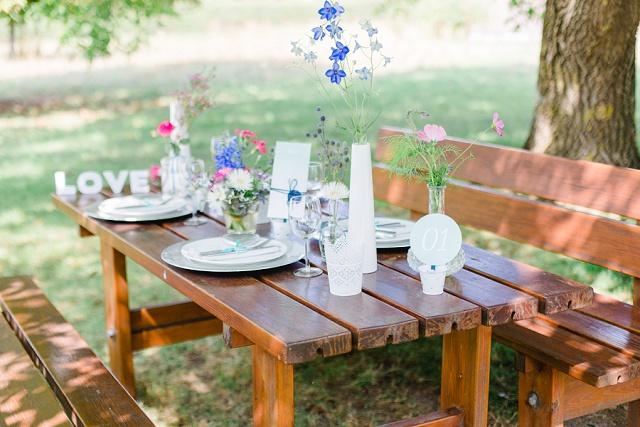Verträumte Gartenhochzeit und Tipps zur Planung von Me & Him Photography