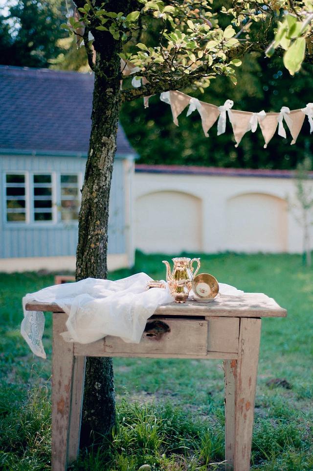 Gartenhochzeit Dekoration Petsy Fink