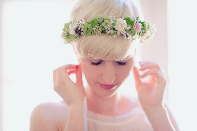 Blumenkranz Hochzeit