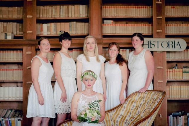 Hochzeit Bibliothek