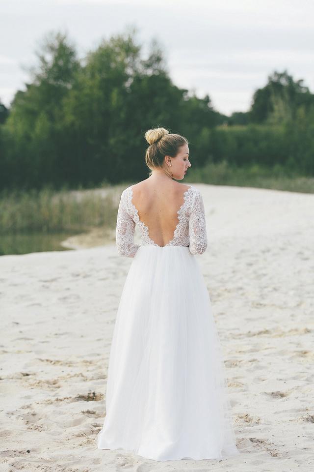 Light & Lace Brautkleid
